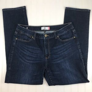 NEW Cabi High Straight Jeans Size 14